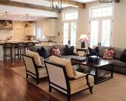 Open Floor Plan Living Room Ideas Painting An Open Kitchen And Living Room Unique Home Design