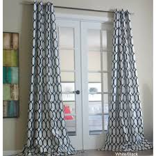 interior design exceptional 2 geometric curtain panels with black