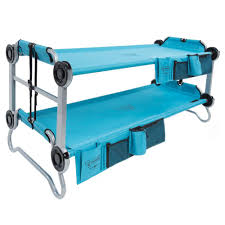 bed for kid disc o bed kid o bunk 65 in teal blue bunk beds with organizers