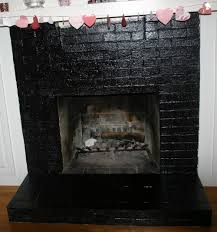 pictures of painted brick fireplaces home design ideas