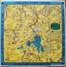 Six Flags New England Map by Antique Maps And Charts U2013 Original Vintage Rare Historical