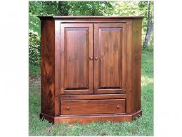 Computer Armoire Corner Armoire Superb Corner Armoire For Simple Closet Design Furniture