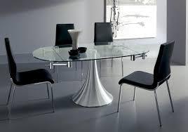 tavoli design cristallo tavolo allungabile flute easyline design