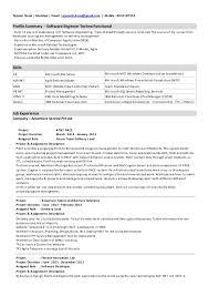Senior Net Developer Resume Sample by 1 Year Experience Resume Format For Java Contegri Com