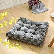 Floor Futon Chair Amazon Com Tmjj Cotton Linen Floor Pillow Cushion Japanese Futon