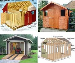 Free Plans For Building A Wood Shed by How To Build A Storage Shed From Scratch