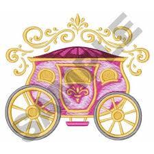cinderella coach cinderella carriage embroidery designs machine embroidery designs