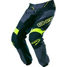 cheap motocross gear combos o u0027neal element gray hi viz motocross dirtbike gear 2017