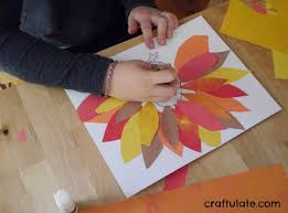 turkey placemats thanksgiving placemats for kids to make craftulate