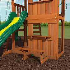 How To Build A Wooden Playset Prairie Ridge Wooden Swing Set