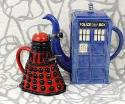 tardis teapot for your delightful tea time designoursign creative tardis teapot with unique shaped decoration inspiration stunning dining room accesories red black and blue
