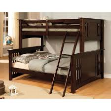 simmons mission hills twin over full bunk bed hayneedle