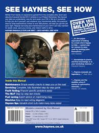 honda cr v petrol u0026 diesel 02 06 haynes repair manual haynes
