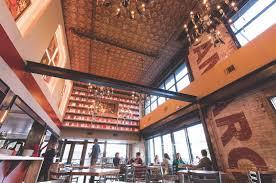 amaro italian bistro bar sactown magazine in amaro s industrial chic dining room an opulent atrium evokes the italian renaissance while