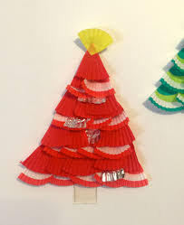 christmas craft for kids u2013 cup cake christmas trees stay at