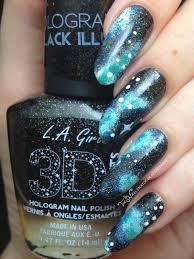 nebula nails l a 3d effects black illusion the nailinator