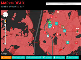 map of the dead create a map with maps for use in of apocalypse