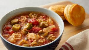 lot of 6 gumbo soup creole chicken gumbo soup recipe pillsbury com