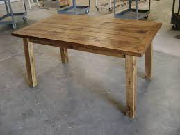 rustic kitchen tables with natural pine wooden materials for