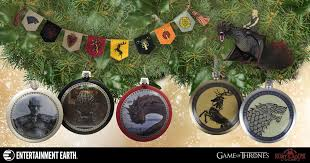 winter is coming so prepare with these of thrones ornaments