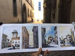 warming up in italy one day four sketches urban sketchers