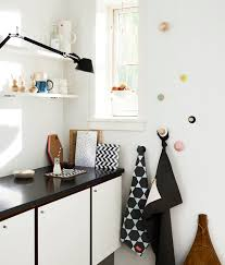 Home Decor Scandinavian Scandinavian Home Decor With Minimalist Black And White Cabinet