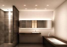 Modern Led Bathroom Lighting Modern Led Recessed Lighting Kimidoriproject Club