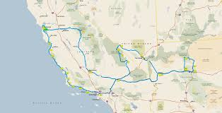 Road Map Arizona by Arizona U2013 Anderswallin Net