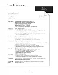 Job Resumes Examples by Resume Examples College Students