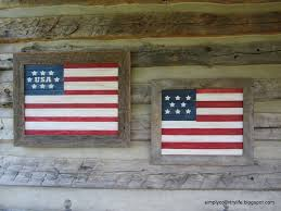 Americana Flags Simply Country Life Barnwood And Beadboard Patriotic Flags