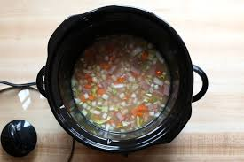 navy bean soup with ham and potatoes recipe