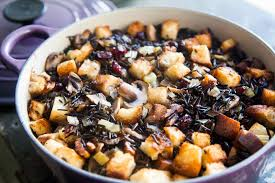 vegetarian dressing for thanksgiving wild rice stuffing recipe simplyrecipes com