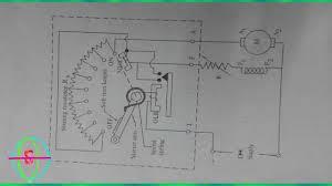 4 point dc motor starter circuit diagram youtube