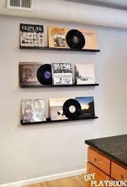 Ikea Photo Ledge Ryan U0027s Record Wall Display Album And Room
