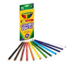 colored pencils long 12 ct crayola