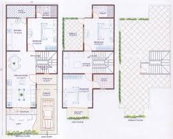 1000 sq ft 3 bhk floor plan image ansal town villa available rs