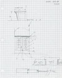 home design graph paper sketching and design development