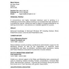 manager resume example operations professional samples personal