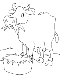 grass eating coloring download free grass eating