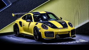yellow porsche 911 watch a porsche 911 gt2 rs lap the u0027ring faster than the 918 the