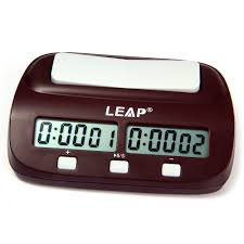 leap pq9907s digital chess clock wei chi count up timer