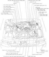nissan maxima egr valve pathfinder v6 engine vacuum line a t fitting intake manifold