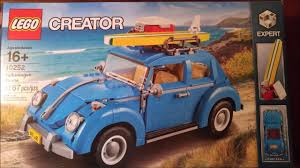 lego volkswagen beetle lego vw beetle time lapse build 10252 youtube
