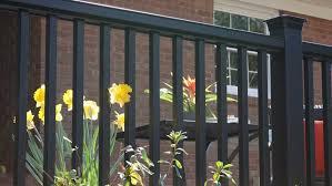 composite deck railing porch railing fiberon