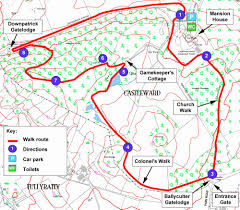 Vasco Da Gama Route Map by Castle Ward Northern Ireland Walk Of The Week Telegraph