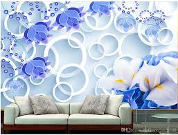 fantasy little orchid three dimensional circle background wall fantasy little orchid three dimensional circle background wall mural 3d wallpaper 3d wall papers for