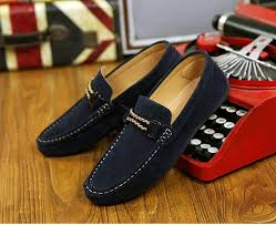 Comfortable Moccasins Men Suede Casual Slip On Flats Loafer Shoes Soft Comfortable