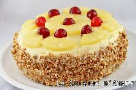 gateau cuisine recette gâteau d anniversaire à l ananas la cuisine familiale