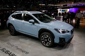 grey subaru crosstrek 2017 2018 subaru crosstrek preview