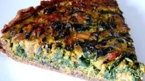 cuisiner blettes tarte aux graines blettes et oignon recette par cuisine alcaline
